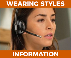 headset wearing styles